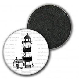 Magnet Aimant Frigo 3.8cm Phare Balise - Symbole Marin