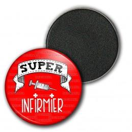 Magnet Aimant Frigo 3.8cm Super INFIRMIER