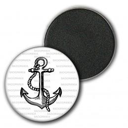 Magnet Aimant Frigo 3.8cm Ancre de Marine - Symbole Marin