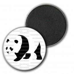 Magnet Aimant Frigo 3.8cm Panda Géant Ursidés Animal Chine Noir et Blanc