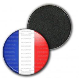 Magnet Aimant Frigo 3.8cm France Tricolore Bleu Blanc Rouge Drapeau Français
