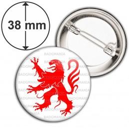Badge 38mm Epingle Blason Midi-Pyrénées Sud Ouest Drapeau Symbole France