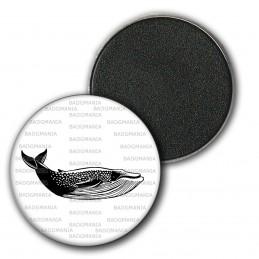 Magnet Aimant Frigo 3.8cm Baleine - Animal Symbole Marin