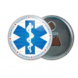 Décapsuleur 6cm Aimant Magnet Croix de Vie Paramedic Caducée Santé