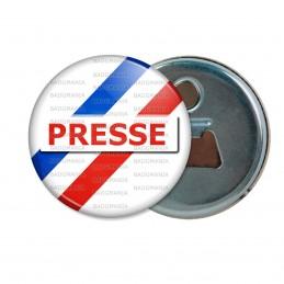 Décapsuleur 6cm Aimant Magnet Presse Reporter Journaliste