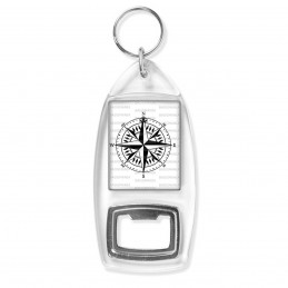 Porte Clés Décapsuleur Compas Boussole 3 - Symbole Marin