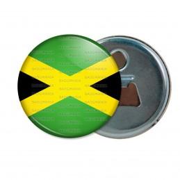 Décapsuleur 6cm Aimant Magnet Drapeau Jamaïcain Jamaïque Croix de Saint André