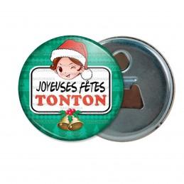 Décapsuleur 6cm Aimant Magnet Joyeuses Fêtes TONTON Noël Gui Cloches