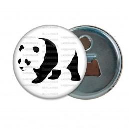 Décapsuleur 6cm Aimant Magnet Panda Géant Ursidés Animal Chine Noir et Blanc
