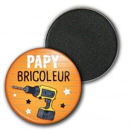 Magnet Aimant Frigo 3.8cm Papy Bricoleur - Perceuse