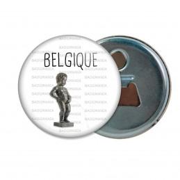 Décapsuleur 6cm Aimant Magnet Belgique Statut Manquen Piss