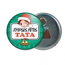 Décapsuleur 6cm Aimant Magnet Joyeuses Fêtes TATA Noël Gui Cloches