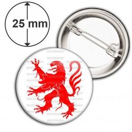 Badge 25mm Epingle Blason Midi-Pyrénées Sud Ouest Drapeau Symbole France